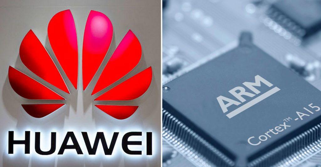 ARM a notificat Huawei ca vor inceta sa mai ofere suport