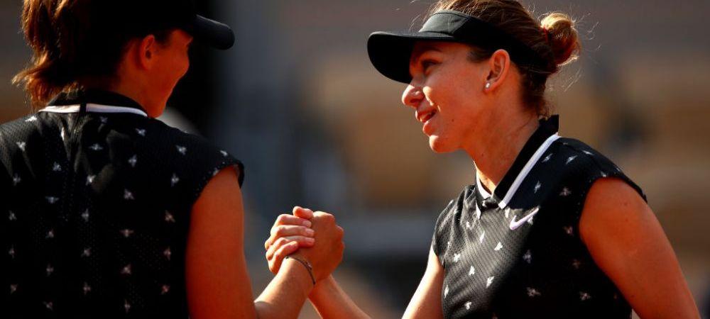 Simona Halep a parasit Roland Garros-ul