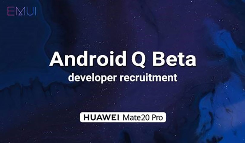 Huawei primeste Android Q
